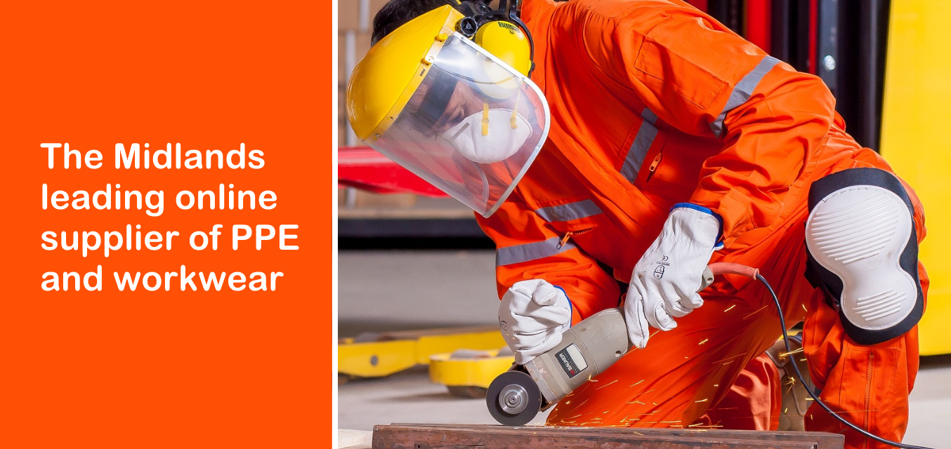 The Midlands leading online supplier of PPE and workwear